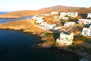 about kythnos porto klaras picturesque little homes with sea view