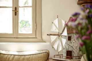contact form porto klaras lounge room with minimal elements and wind mill decoration