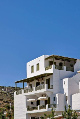 gallery porto klaras cycladic complex with amazing sea view of the Aegean