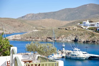gallery porto klaras apartments in Kythnos with unique sea view