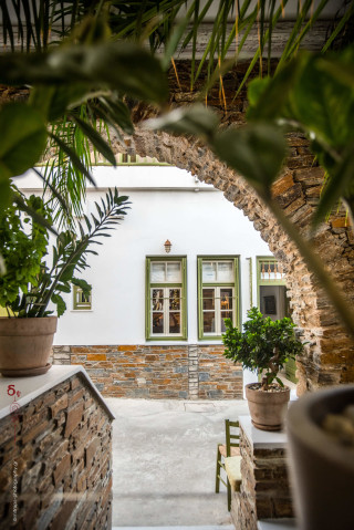garden porto klaras lush grounds