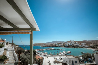 guestbook porto klaras room balcony with sea view in kythnos