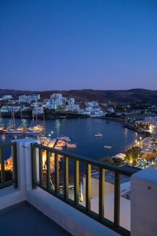 porto klaras unique sea view by night