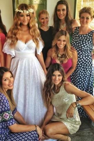 weddings porto klaras celebrity marriage in kythnos