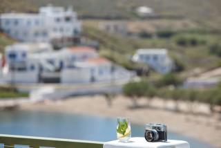 VIP studios porto klaras elegant sea view of Kythnos Island