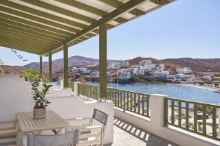 4 family suites balcony kithnos porto-klaras-