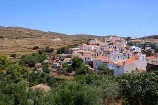 about kythnos porto klaras picturesque village on Kythnos Island