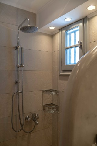 junior suite porto klaras sea view elegant shower