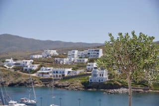 VIP studios porto klaras great view of the sea of kythnos island and the village