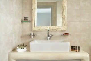 standard studios porto klaras bathroom with personal care products