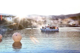 weddings porto klaras wedding boat in Kythnos Island
